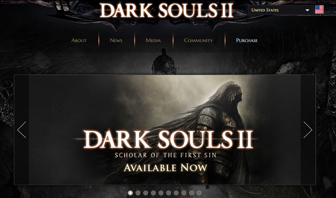 dark souls 2 video game website