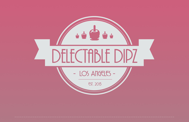 ice cream parlor delectable dipz identity