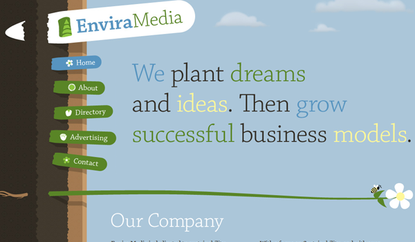 Envira media digital website solutions