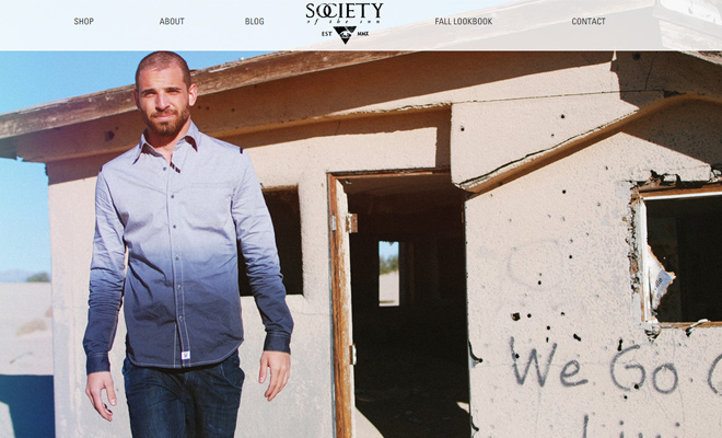 society of the sun clothing company website