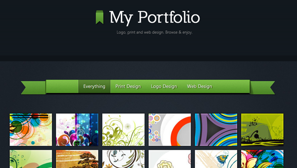 coding a tutorial HTML5 portfolio website layout