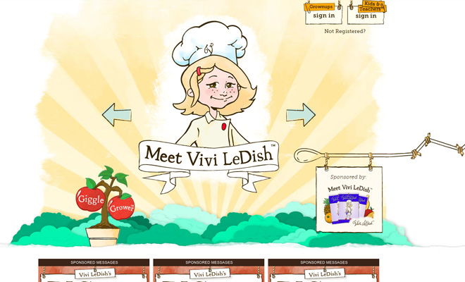 vivi ledish cooking foodies recipes kids