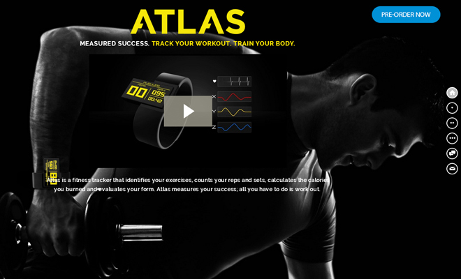 atlas wearables fitness activity tracker dark website