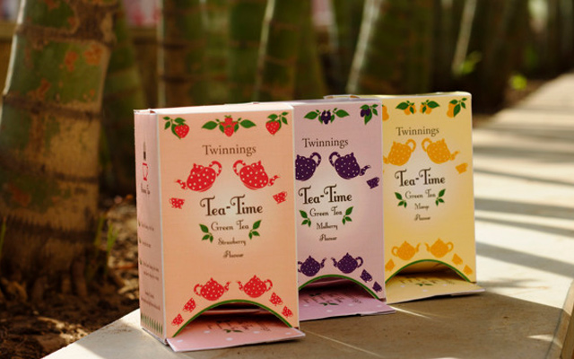 flavoured green tea packaging design inspiration