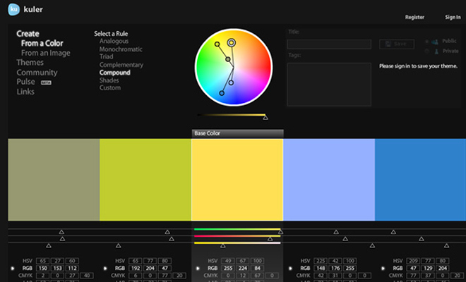 introduction to color theory article for web designers