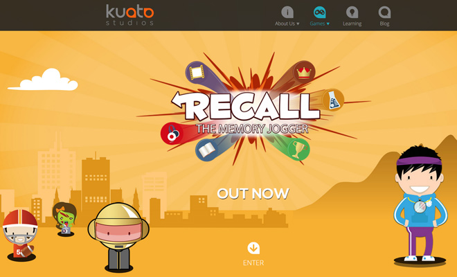 recall kuato studios game mobile kids children
