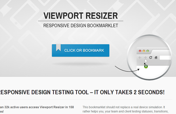 mobile viewport responsive webapp tools design
