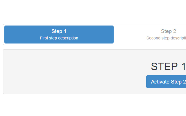 form wizard steps bootstrap css open source