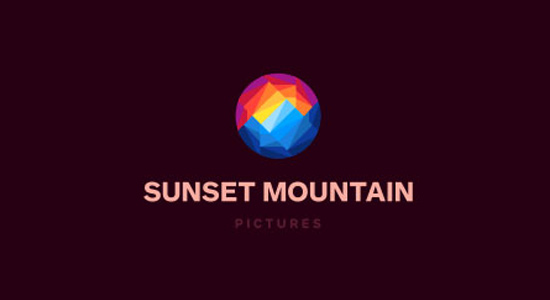 sunset mountain pictures productions company logo