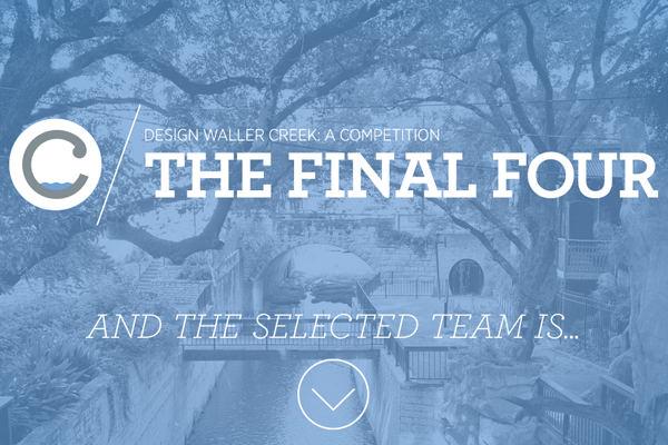 The Final Four contest Waller Creek website layout photos