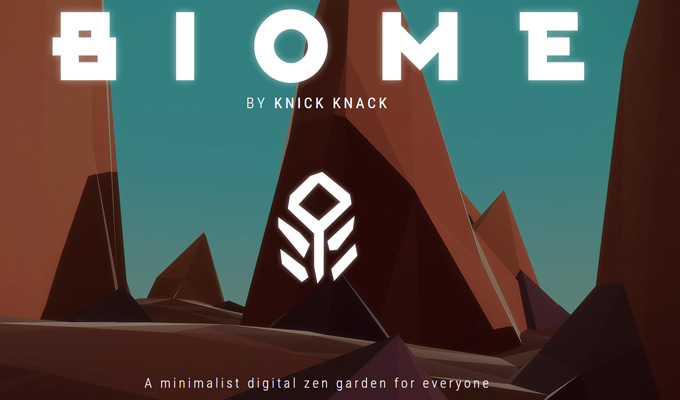 biome video game homepage