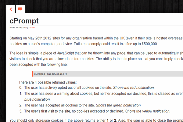 plugin javascript cookies warning effect