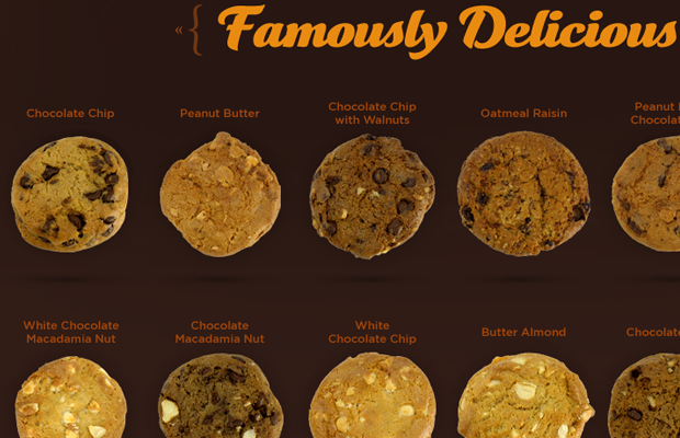 famous cookies online ecommerce product items