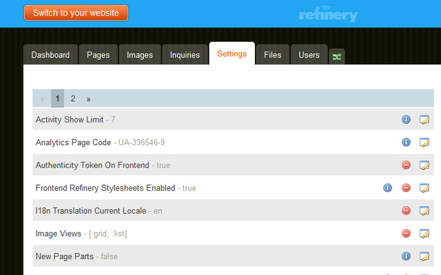 howto beginners tutorial guide refinery cms dashboard