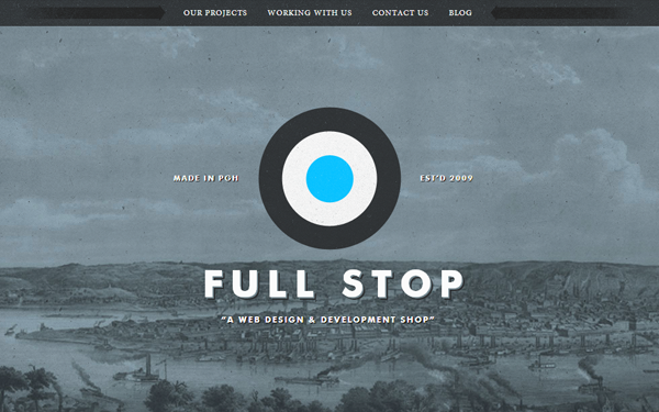 Full Stop Interactive website design studio