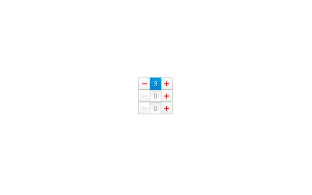 jquery spinner numbers input typing clicking plugin screenshot