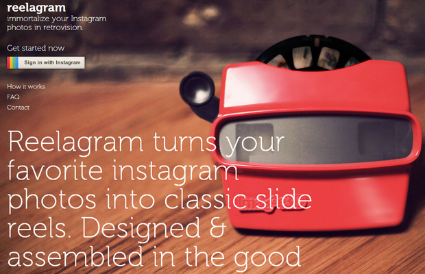 instagram product reelagram photos homepage landing website