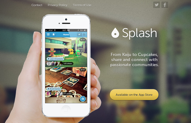 iphone app landing page inspiration layout