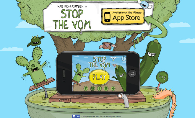 stop the vom iphone game ios landing page