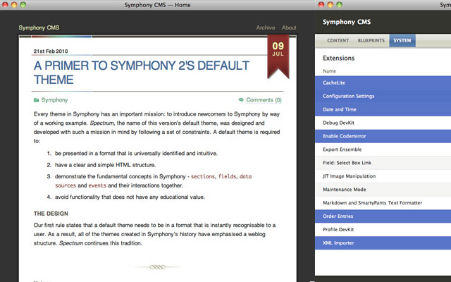 open source symphony cms howto guide tutorial