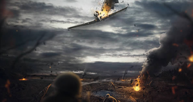 photoshop composite battlefield tutorial