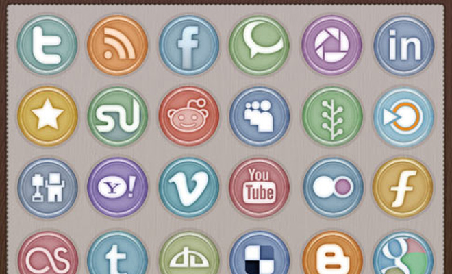 glossy social media icons freebie