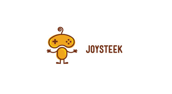 joysteek logo design bright colorful inspiration