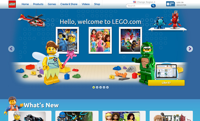 lego company kids blocks toys homepage