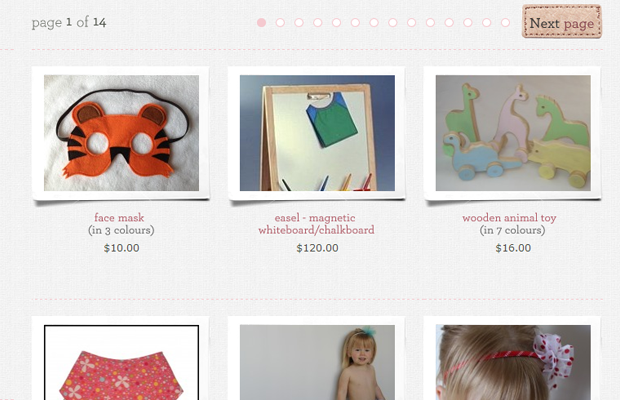 ecommerce product list mum made mommy online website