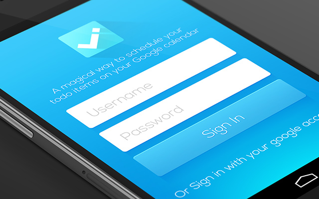 todo app interface android mobile ui