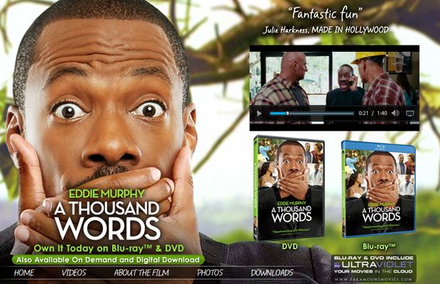 eddie murphy a thousand words movie website