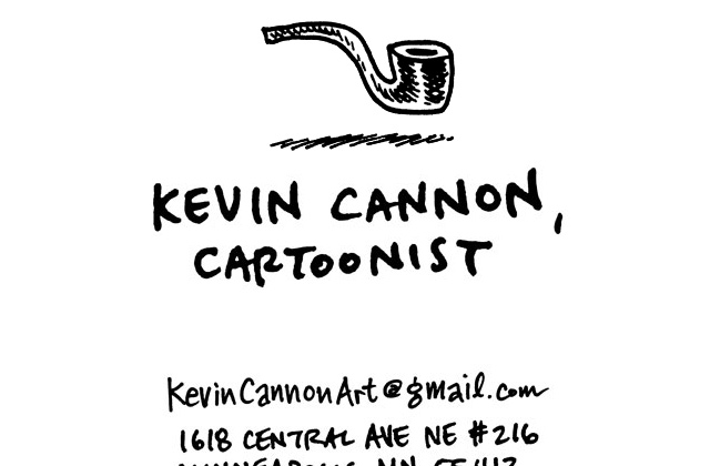 kevin cannon cartoonist portfolio flat design