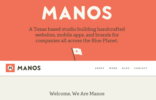 manos texas studio design websites creative portfolio