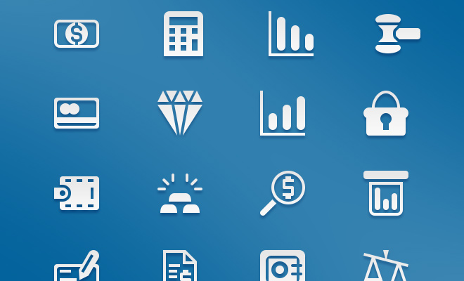savings finance money iconset freebie