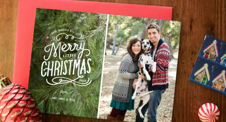 10 Festive Christmas Card Designs