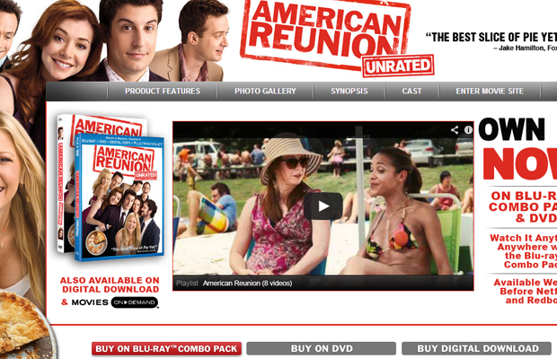 american pie reunion movie official website