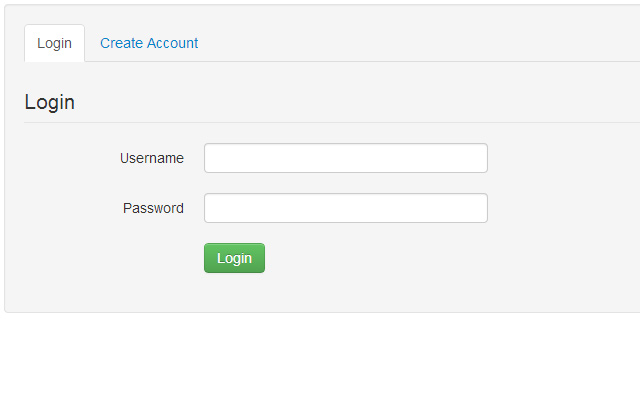 css tabs interface login register form bootstrap