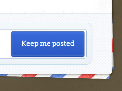 keep me posted website layout email design