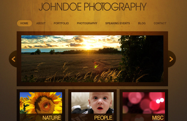 website photoshop layout interface photography howto