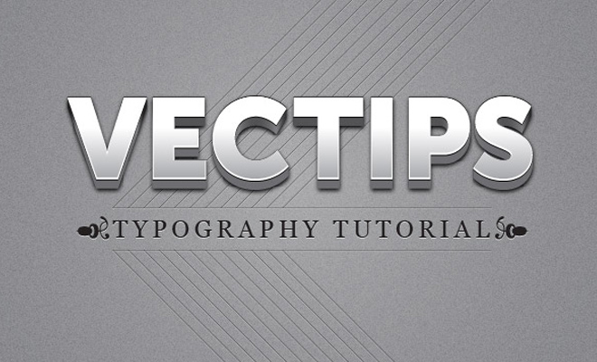 polished raised text effect tutorial illustrator