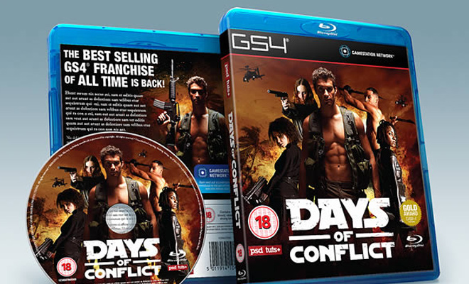 print packaging for video game psd tutorial