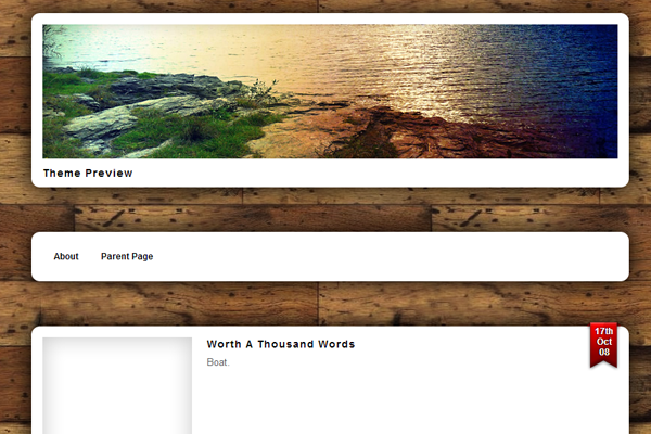 wordpress free wood panels ui interface