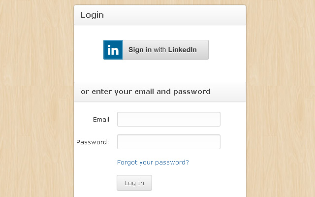 3sourcing login form user interface custom