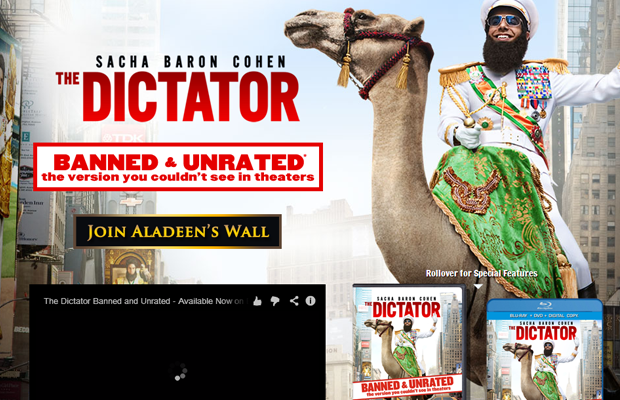 dictator middle east movie comedy website