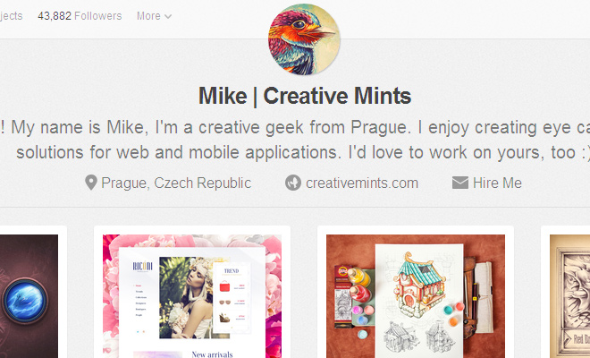 mike creative mints dribbble interview