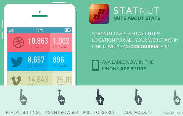 Statnutapp ios iphone app mobile website