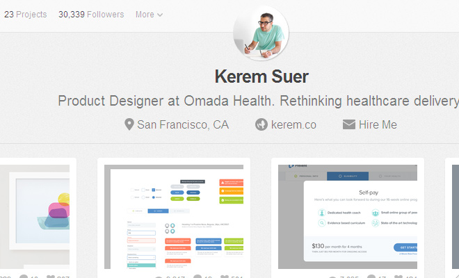 kerem suer interview timeout dribbble