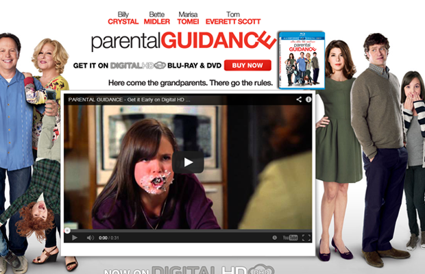parental guidance movie website layout official
