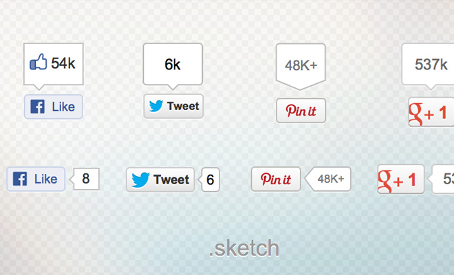 social badges for sketch freebie