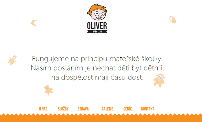 baby club oliver czech kids website